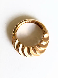 Spirale Trio Rings Rose White & Gold 18k