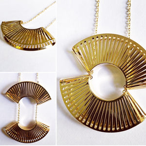 SUNSET SAUTOIR 18k Gold Necklace