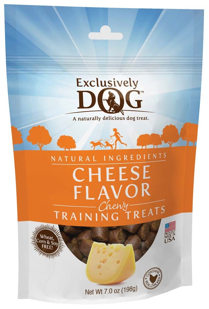 Exclusively Pet Training Treats Cheese Flavor 7oz