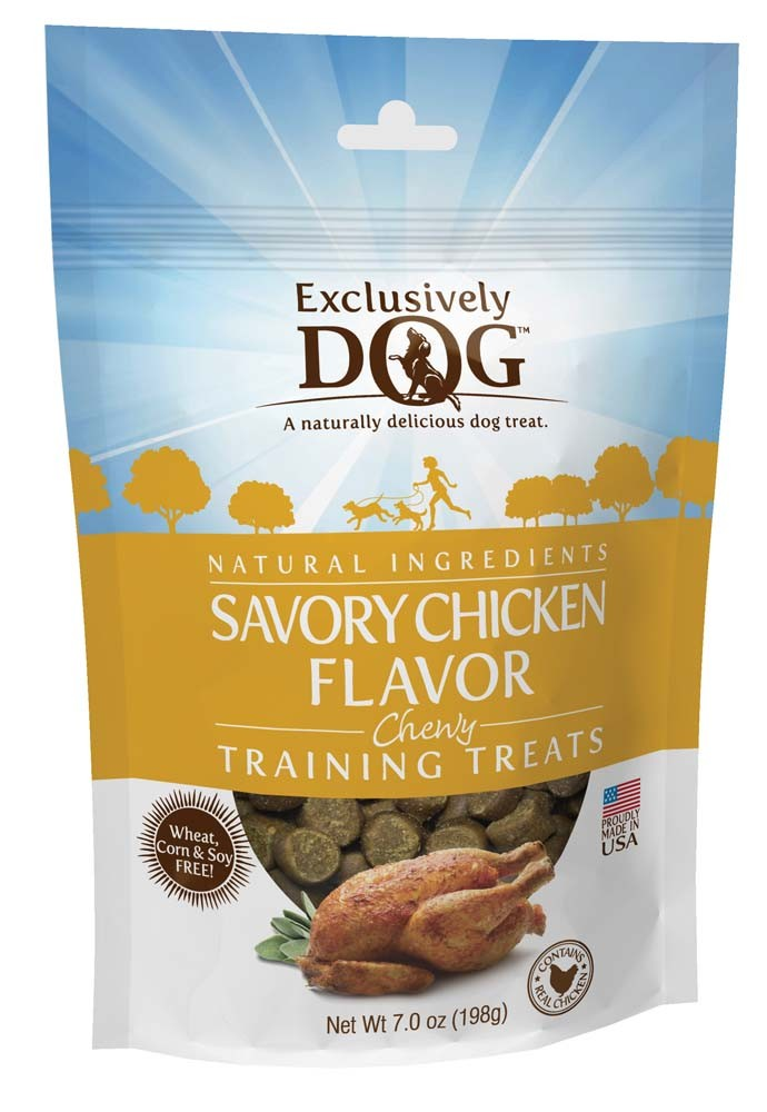 Exclusively Pet Training Treats Savory Chicken Flavor 7oz