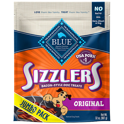 Blue Buffalo Dog Sizzlers Pork 32 Oz.