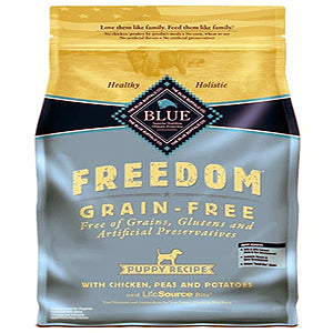 Blue Buffalo Dog Freedom GF Puppy Chicken 4 Lbs