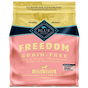 Blue Buffalo Dog Freedom Grain-Free Small All Breed Chicken 11 Lbs.