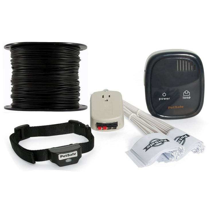 PetSafe Rechargeable In-Ground Fence With Essential Pet 16 Gauge Wire