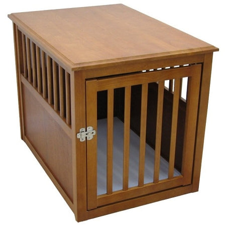 Dog Crate Table - Medium/Mahogany - PetCareShops