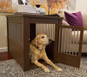 InnPlace™ Dog Crate with Stainless Steel Spindles - PetCareShops