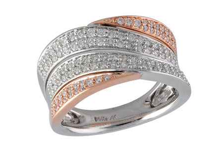 14KT Rose Gold Ladies Ring