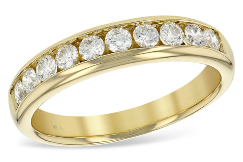 14KT Gold Ladies 0.50 Carat Anniversary Band