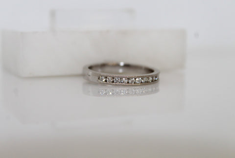 Diamond Wedding Band or Anniversary Ring