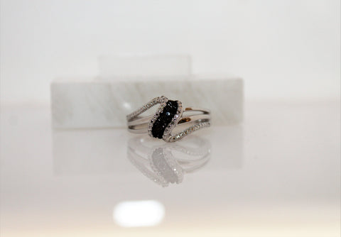 Black Diamond Ring - Now Only $89