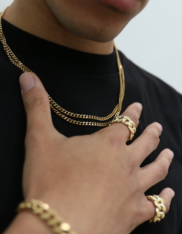 Mini Cuban Link Gold