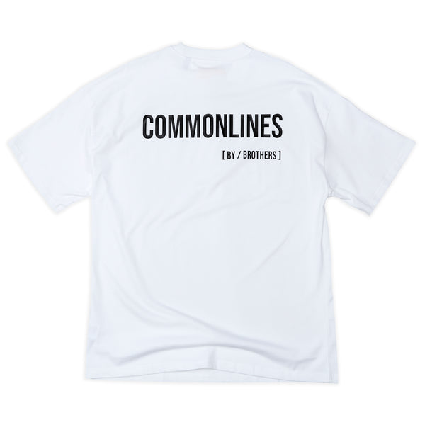 [BY / BROTHERS] TEE (WHITE)