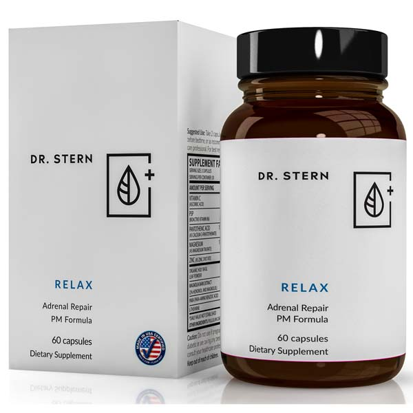 RELAX - THE DEEP SLEEP & SUSTAINED ENERGY SOLUTION