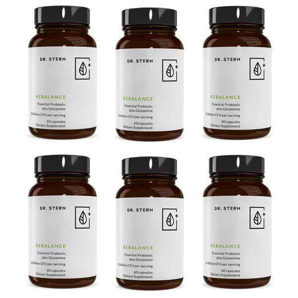 REBALANCE PROBIOTIC FORMULA (6 BOTTLE BUNDLE )