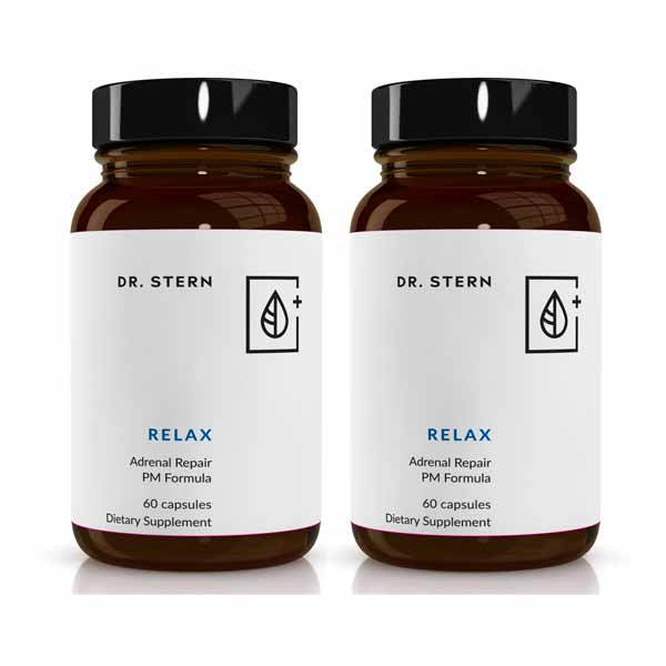 RELAX - THE DEEP SLEEP & SUSTAINED ENERGY SOLUTION (2 BOTTLE BUNDLE )