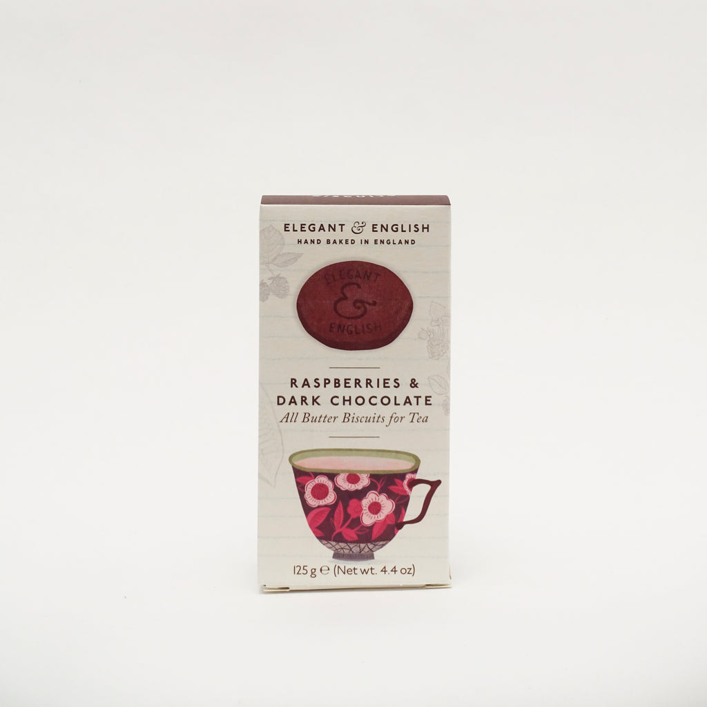Elegant & English Raspberries & Dark Chocolate