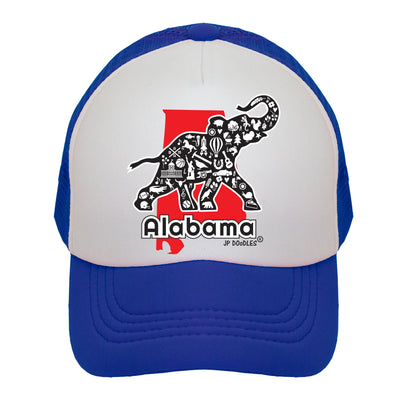 Alabama State Kids Trucker Hat