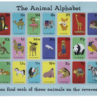 Animal Alphabet Placemats
