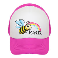 Bee Kind Kids Trucker Hat
