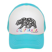 California Rainbow Kids Trucker Hat