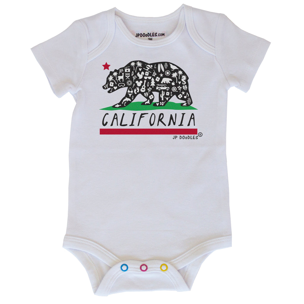 California Bear Bodysuit