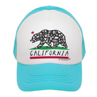 California State Flag Kids Trucker Hat