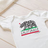California Bear Baby Bodysuit by JP DOoDLES
