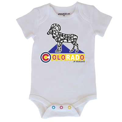 Colorado State Baby Bodysuit