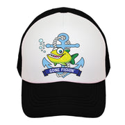 Gone Fishin' Kids Trucker Hat