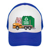 Garbage Truck Kids Trucker Hat