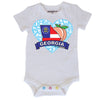 Georgia Heart Baby Bodysuit