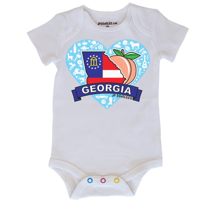 Georgia Heart Bodysuit