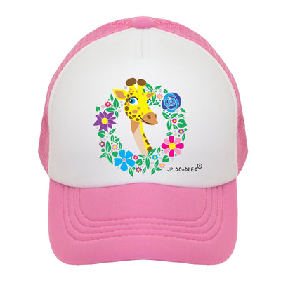 Giraffe Kids Trucker Hat
