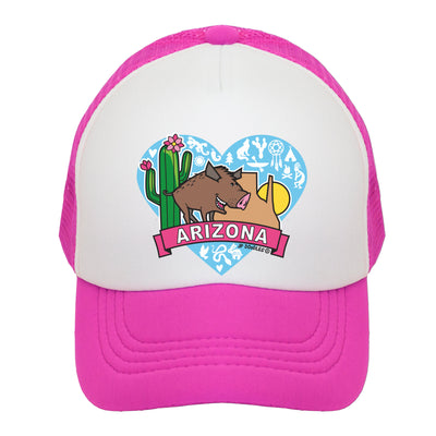 Arizona State Javalina  Kids Trucker Hat