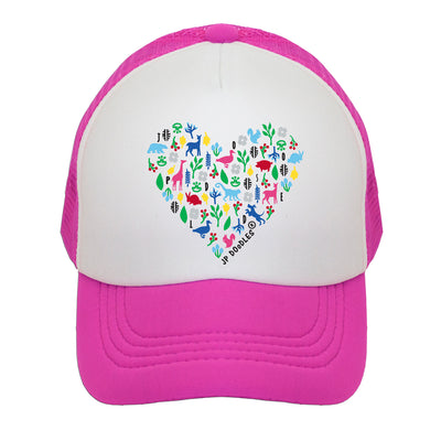 Heart Kids Trucker Hat