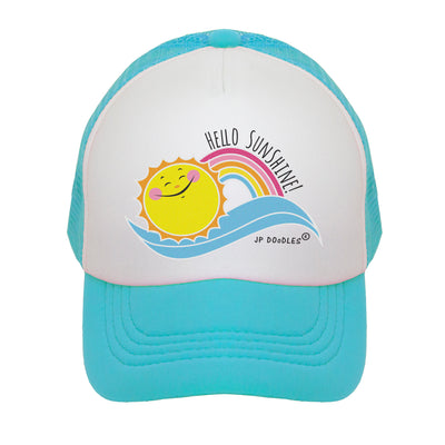 Hello Sunshine Kids Trucker Hat