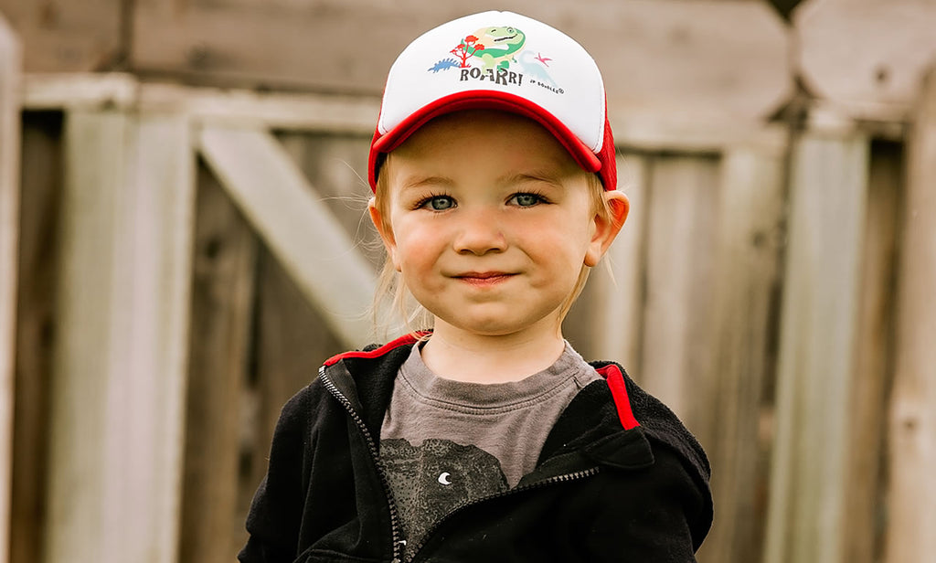 Kids Baseball Hats by JP DOodles