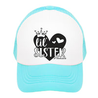 Big Sis & Lil' Sis Kids Trucker Hat