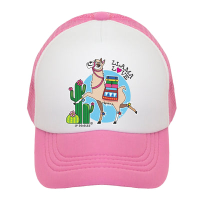 Llama Love Kids Trucker Hat