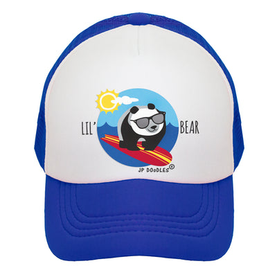 Little Panda Bear Boy Trucker Hat