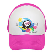 Little Panda Bear Girl Trucker Hat