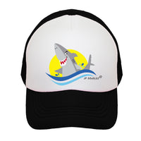 Shark Kids Trucker Hat
