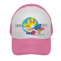 Surfer Chick Kids Trucker Hat