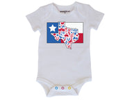 Texas Flag Baby Bodysuit