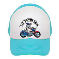 Bad to the Bone Kids Trucker Hat