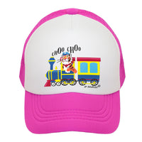Choo Choo Train Kids Trucker Hat