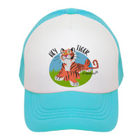 Hey Tiger Kids Trucker Hat
