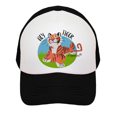 Tiger Kids Trucker Hat