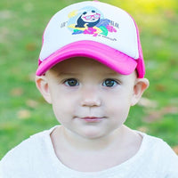 Toddler Pink Trucker Hat
