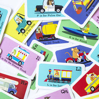 Transportation Flashcards for Kids